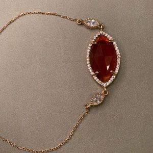Ruby/diamond bracelet